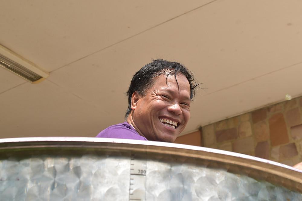 Nettoyage de cuve avec le sourire