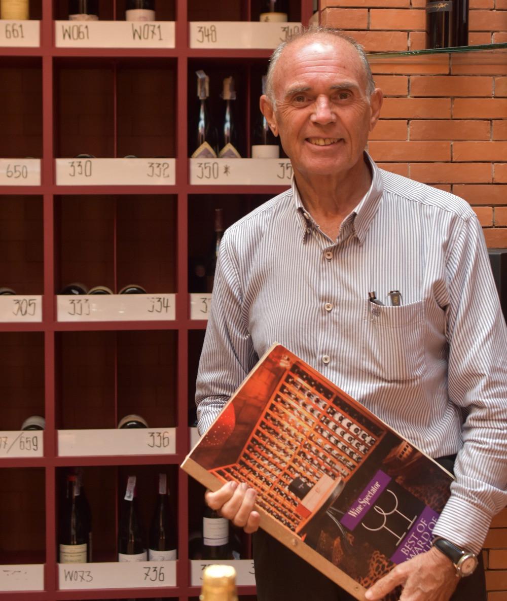 Georges Ciret, Wine Director à la Villa Royale