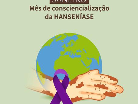 Janeiro Roxo: mês de conscientização sobre a hanseníase