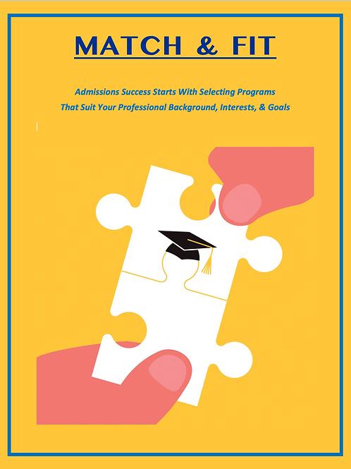 Program Identification & Admissions Plan Report
