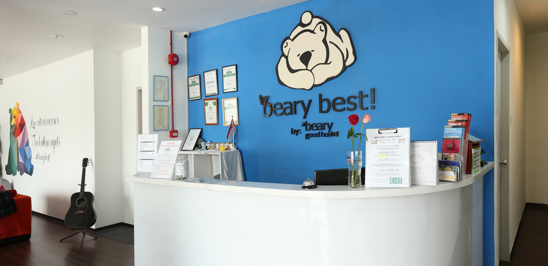 Beary best 24 hours reception and discounted tour bookings