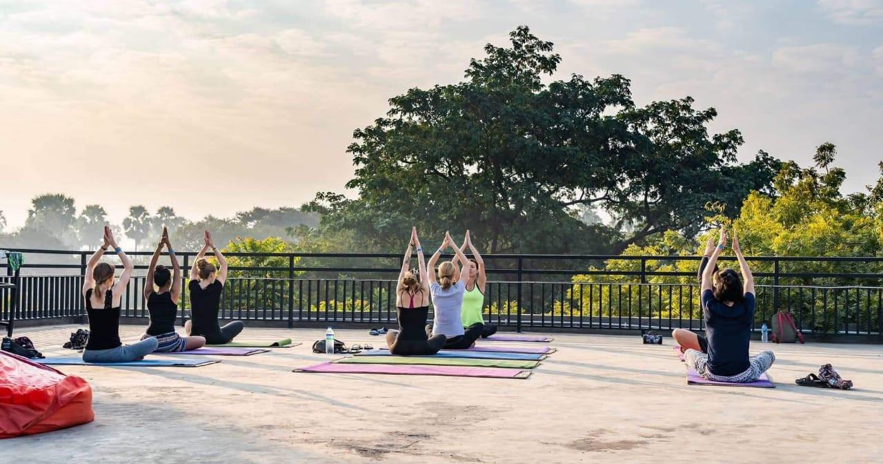 Baobabed Bagan Rooftop Yoga