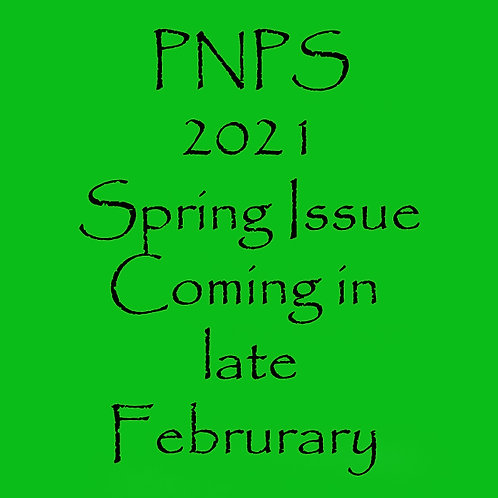 2021 PNPS Spring New Print Subscription or Renewals