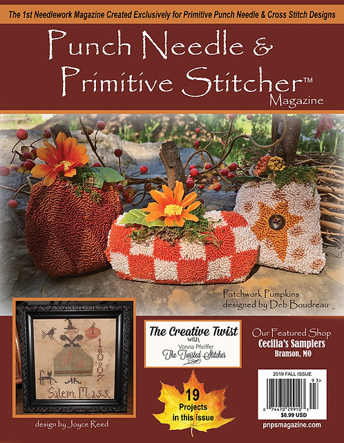 2019 Fall Single Issue Print PNPS Magazine