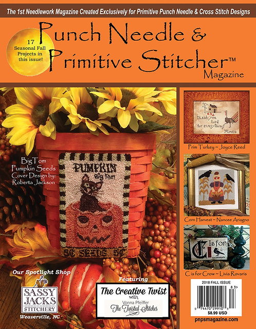2018 Fall Digital Issue - Immediate Download