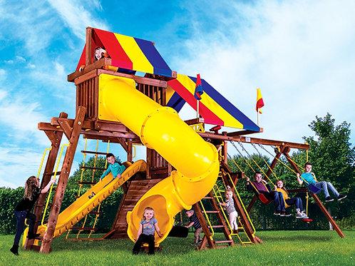 Sunshine Castle Pkg V with 270° Spiral Slide (15J)