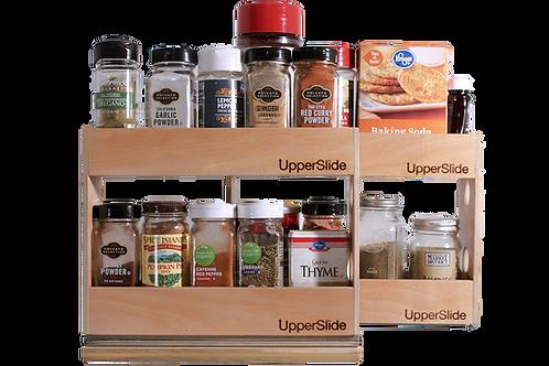 Upperslide Cabinet Caddies Spice Rack Starter/Expansion Pack #2 (US 303SEP2)