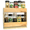 Thumbnail: Upperslide Cabinet Caddies Double Spice Rack Pull Out Small (US 303DS)