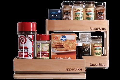 Upperslide Cabinet Caddies Spice Rack Starter/Expansion Pack #3 (US 303SEP3)