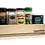 Thumbnail: Upperslide Cabinet Caddies Single Spice Rack Pull Out Small (US 303-SPO)