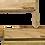 Thumbnail: Upperslide Cabinet Caddies Spice Rack Starter/Expansion Pack #3 (US 303SEP3)