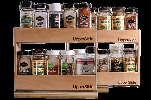 Upperslide Cabinet Caddies Spice Rack Starter/Expansion Pack #1 (US 303SEP1)