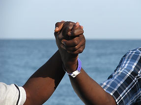 Haitians working together
