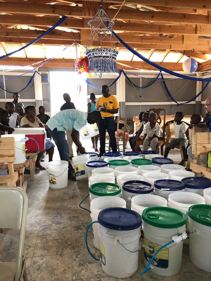 Water filter distribution