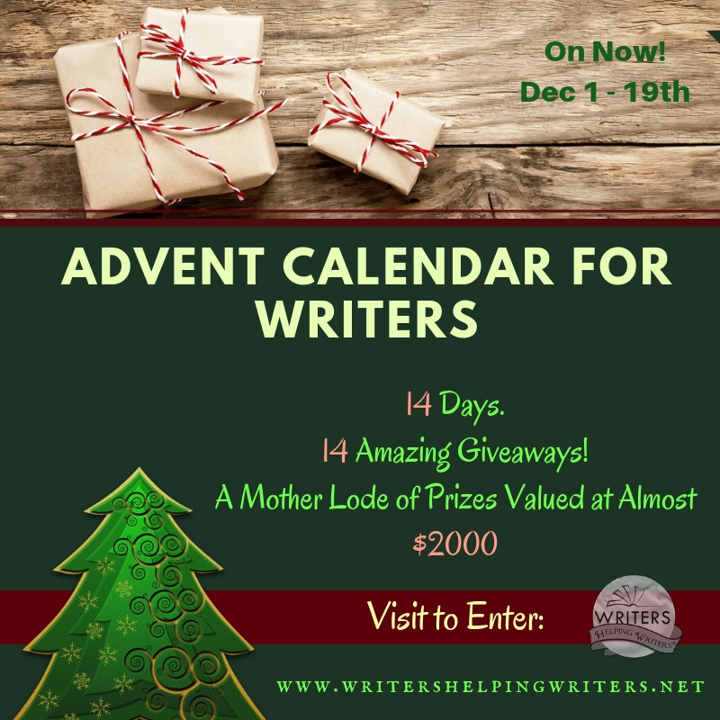 Advent Calendar For Writers Giveaway
