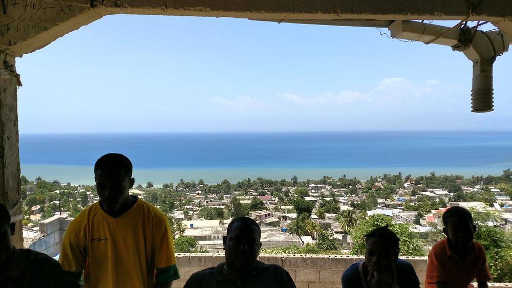 Overlooking Port au Prince Bay