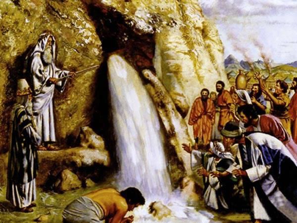 Moses at Kadesh