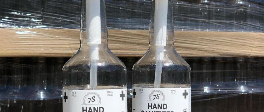 Hand Sanitizer - 750ml Bottle + Hand Pump