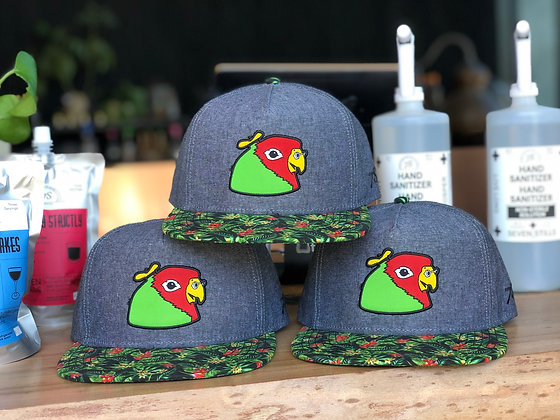 Five Pounds Bird Hawaiian Hat