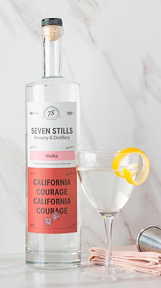California Courage Vodka