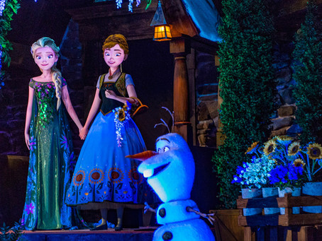 FROZEN EVER AFTER GETTING READY TO CLOSE FOR REFURBISHMENTS