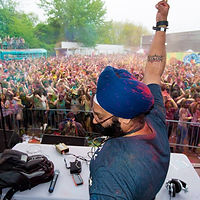 Festival of colors holi nyc DJ VIC