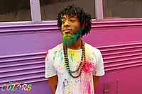 Noah Bility at Festival of Colors: Holi NYC 2015