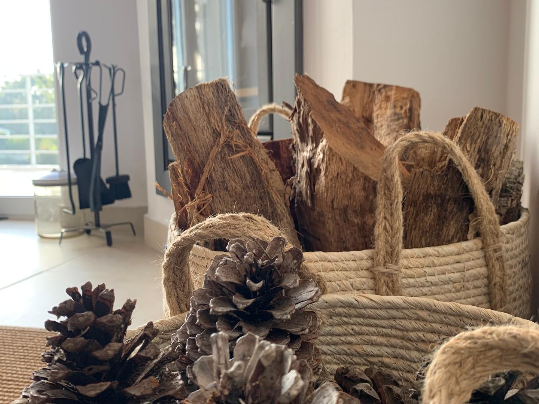 Casa da Vida II | Two Wood Fireplaces in the House