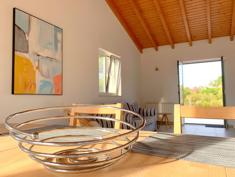 Casa da Vida II | Downstairs Dining Area & Living Room