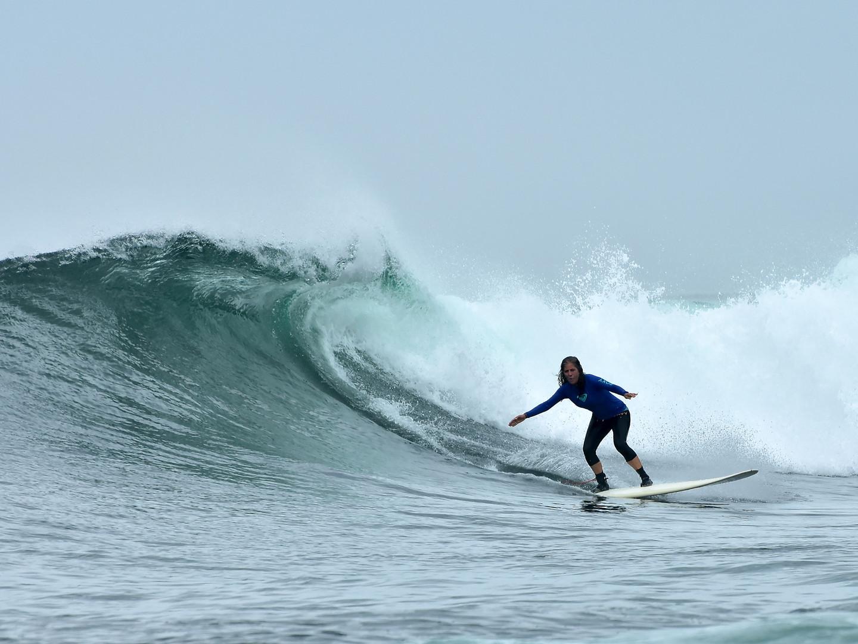 World class surfing at beaches nearby Casa da Vida II.