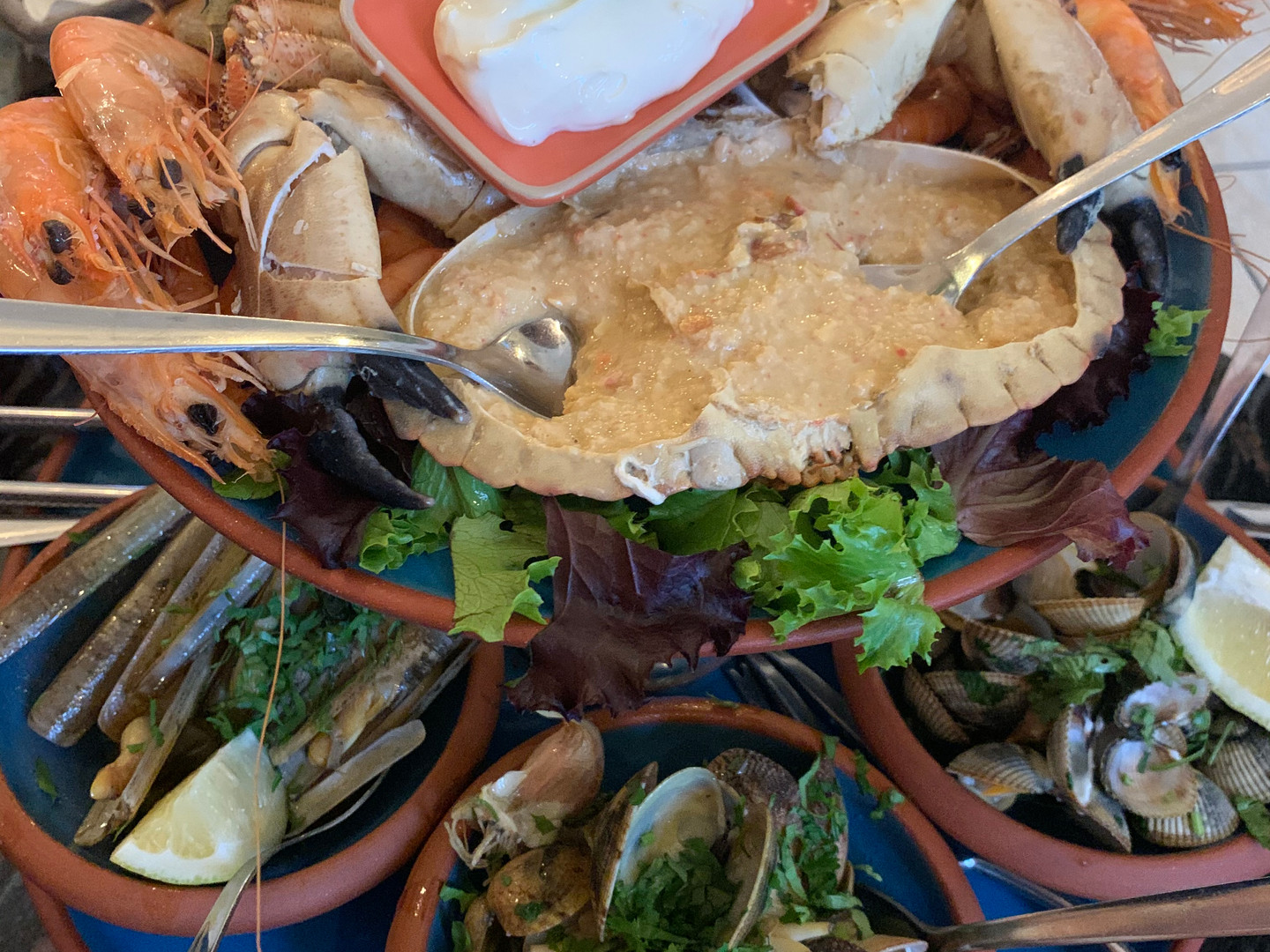 Seafood & Fish in short driving distance