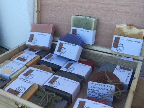 Artisanal products are available at bio