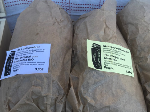 Locally made, fresh bread is available a