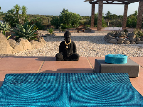 Private yoga classes at Casa da Vida II or nearby.