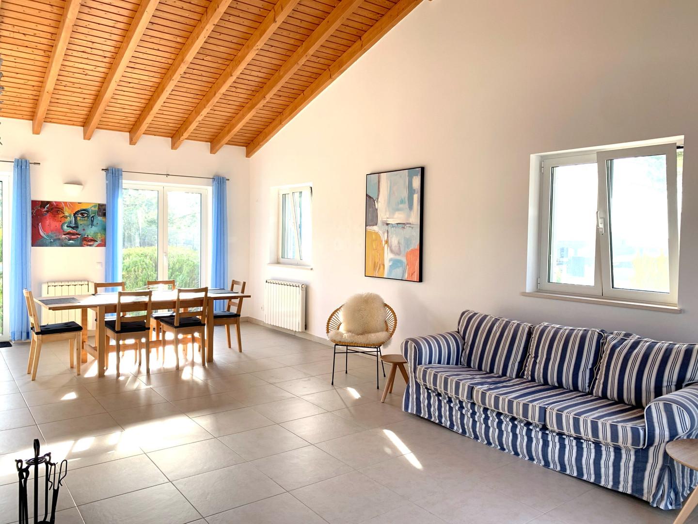 Casa da Vida II | Downstairs Living Room