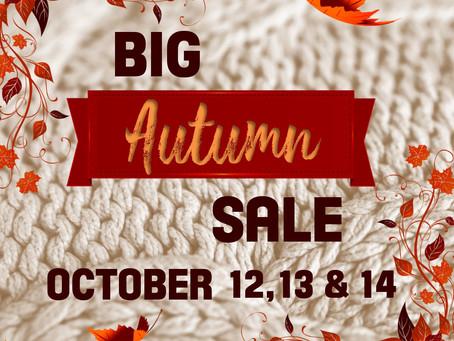 The farm's Big Autumn Sale event
