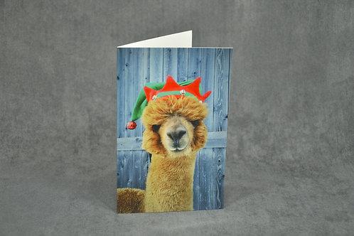Holiday Card - Santa's Little Helper