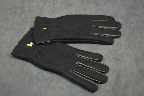 Boiled wool alpaca gloves
