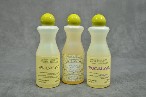 Eucalan trial size trio Natural Unscented Lavender Jasmine