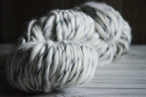 Lopi Yarn - Bulky - White With Grey Specks