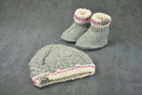 Pink Heritage Hat & Booties
