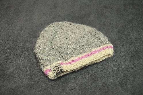 Pink Heritage Newborn Hat