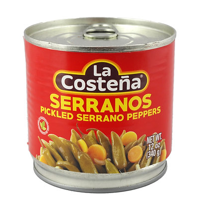 La Costena Whole Serranos