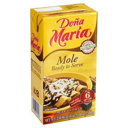 Dona Maria Mole, Ready to Serve - 540 gram