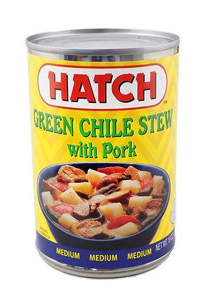 Hatch Green Chile Stew with Pork - Medium
