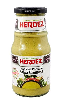 Herdez Salsa Cremosa - Poblano (medium)