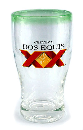 Dos Equis Handmade Beer Glass