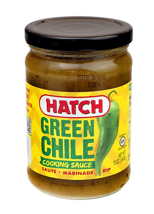 Hatch Fire Roasted Green Chile Cooking Sauce