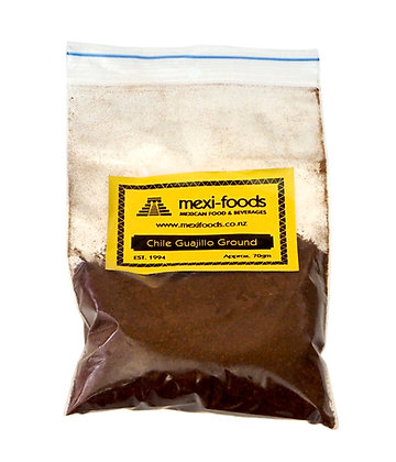 Mexi-foods Chile Guajillo - Ground - no less than 70gms