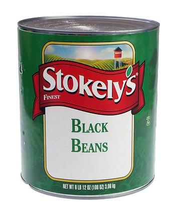 Stokley's Whole Black Beans - 3.06kg